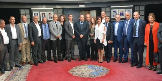 وزير الثقافة والاتصال يستقبل أعضاء المجلس الوطني للصحافة