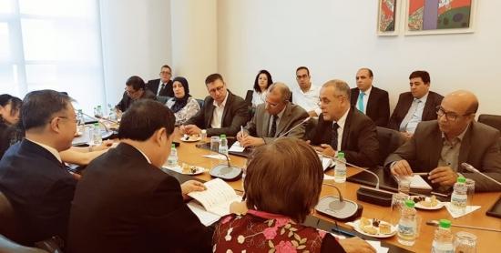 لقاء بين  النقابة الوطنية للصحافة المغربية وجمعية الصحافيين الصينيين - فيديو