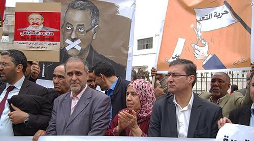 محكمة الرباط تؤجل محاكمة الزميل عبد الله البقالي- فيديو