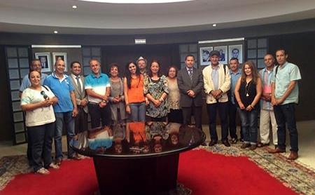 بلاغ وزارة الاتصال والنقابة الوطنية للصحافة المغربية بخصوص طرد الحساني