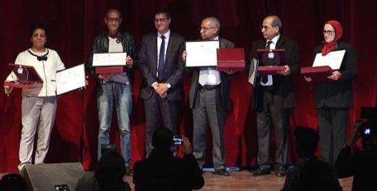 حفل تكريم مجموعة من الصحافيين والإعلاميين من مختلف وسائل الإعلام الوطنية - فيديو