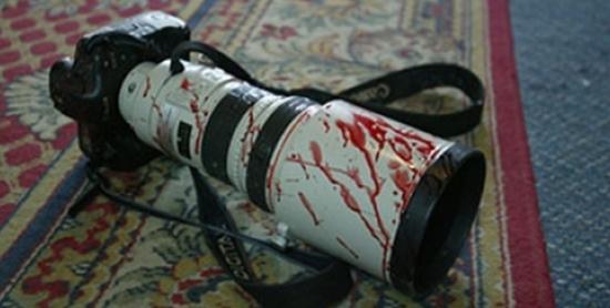بلاغ اعتداء على الزميل سمير زرادي